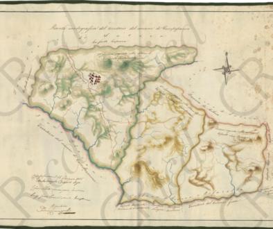 mappa feudo